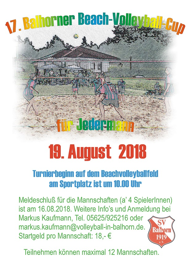 17. Balhorner Beach-Volleyball-Cup