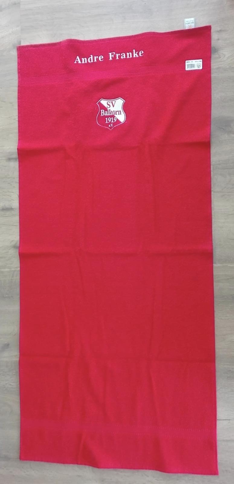 Das SV Balhorn Handtuch ist da...