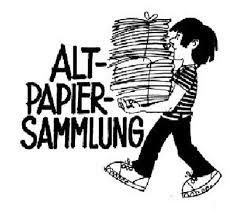 Altpapiersammlung
