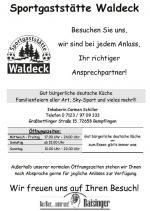 Sportgaststätte Waldeck