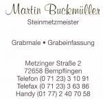 Martin Buckmüller