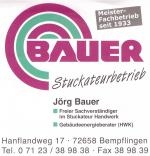 Stuckateurbetrieb Bauer